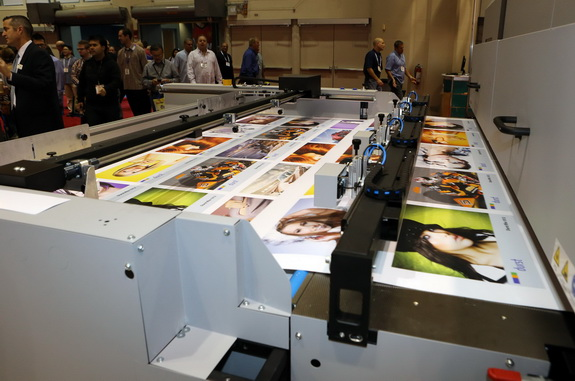 Durst, which started out making equipment for darkroom photo processing, has evolved into a leading manufacturer of industrial-grade inkjet printers for textiles, packaging, labels, exhibit graphics, transit advertising, and retail displays. Photo: SGIA Expo