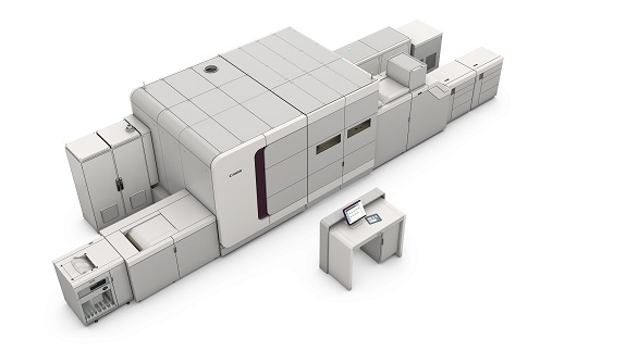 The printing plant of the future will be highly automated, and may include high-speed production digital presses such as Canon's Niagara full-color inkjet press that can produce up to 3,800 duplexed B3 sheets per hour and up to 8,500 duplexed letter sheets per hour with volumes of up to 10 million letter-size images per month.